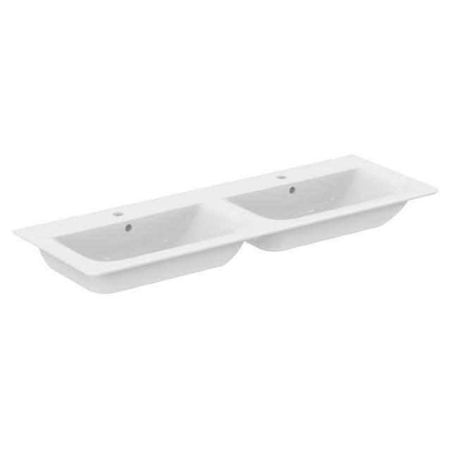 Ideal Standard Connect Air Doppel-Möbelwaschtisch weiß, mit Ideal Plus