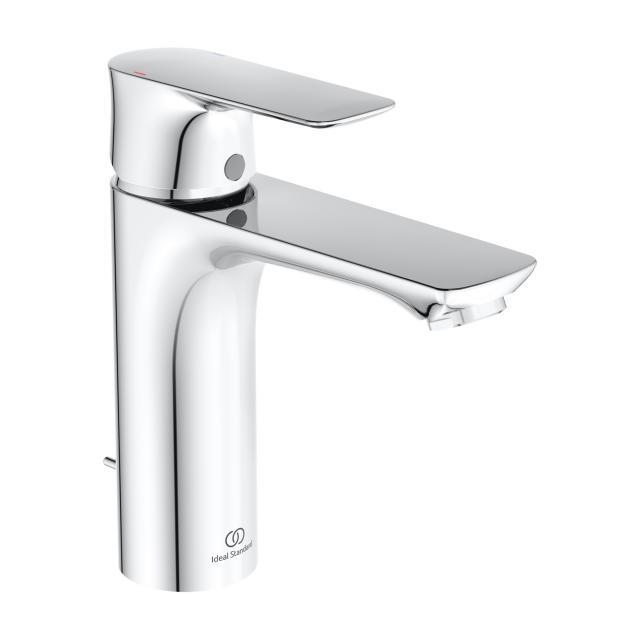 Ideal Standard Connect Air Einhebel-Waschtischarmatur GRANDE chrom, mit Ablaufgarnitur