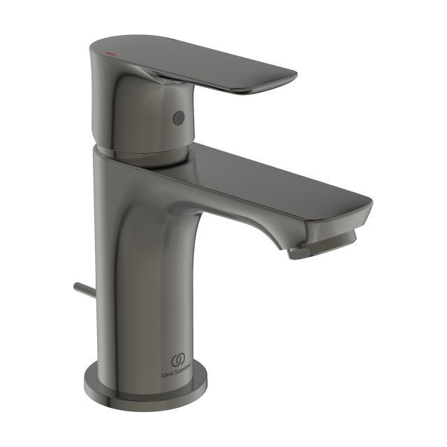 Ideal Standard Connect Air Einhebel-Waschtischarmatur PICCOLO magnetic grey, mit Ablaufgarnitur