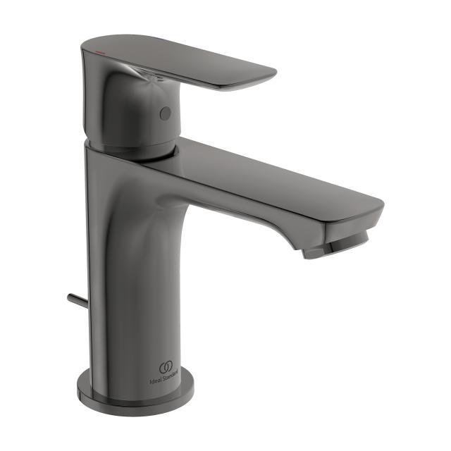 Ideal Standard Connect Air Einhebel-Waschtischarmatur Slim magnetic grey, mit Ablaufgarnitur