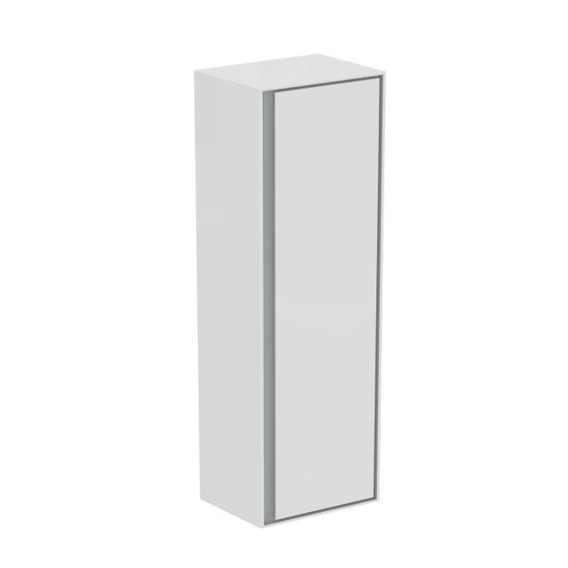 Ideal Standard Connect Air Halbhochschrank mit 1 Tür weiß glänzend/hellgrau matt