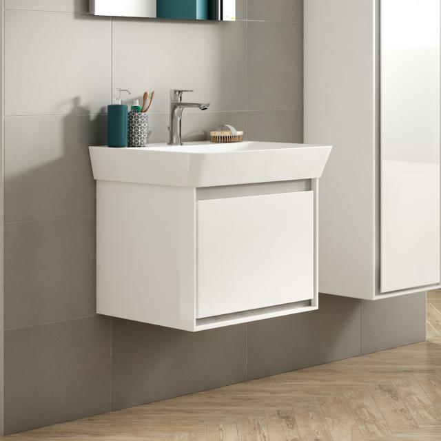 Ideal Standard Connect Air Waschtisch mit Waschtischunterschrank mit 1 Auszug weiß, mit Ideal Plus