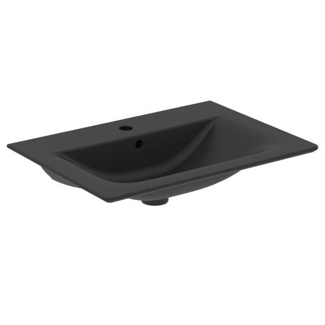 Ideal Standard Connect Air Möbelwaschtisch schwarz matt, ohne Beschichtung