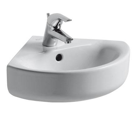 Ideal Standard Connect Arc Eckwaschtisch weiß