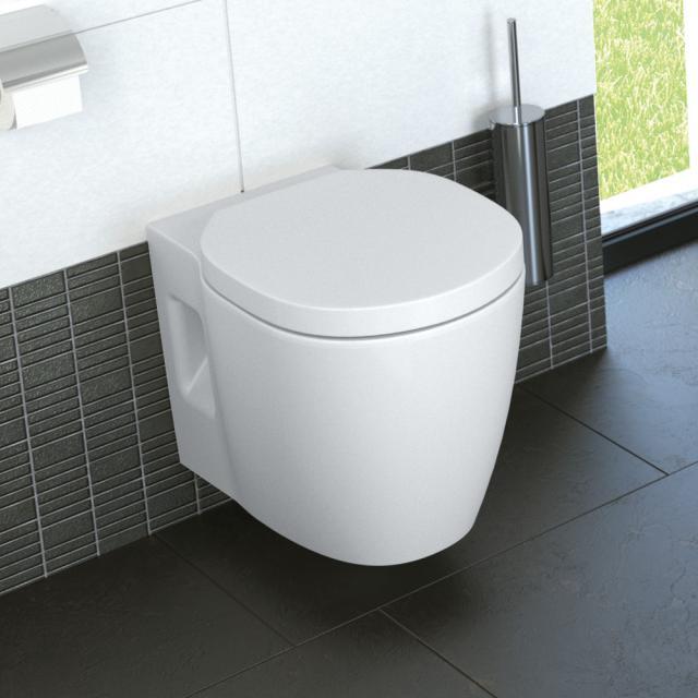 Ideal Standard Connect Freedom Plus 6 Wand-Tiefspül-WC, erhöht weiß, mit Ideal Plus