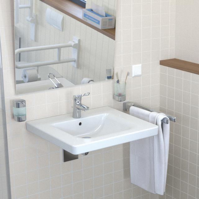 Ideal Standard Connect Freedom Waschtisch, unterfahrbar weiß, mit Ideal Plus, mit Überlauf