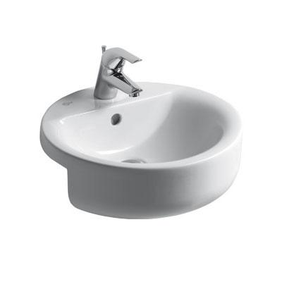 Ideal Standard Connect Sphere Halbeinbauwaschtisch weiß