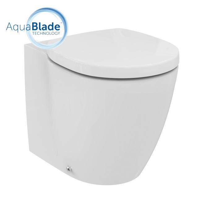 Ideal Standard Connect Stand-Tiefspül-WC ohne Spülrand, weiß