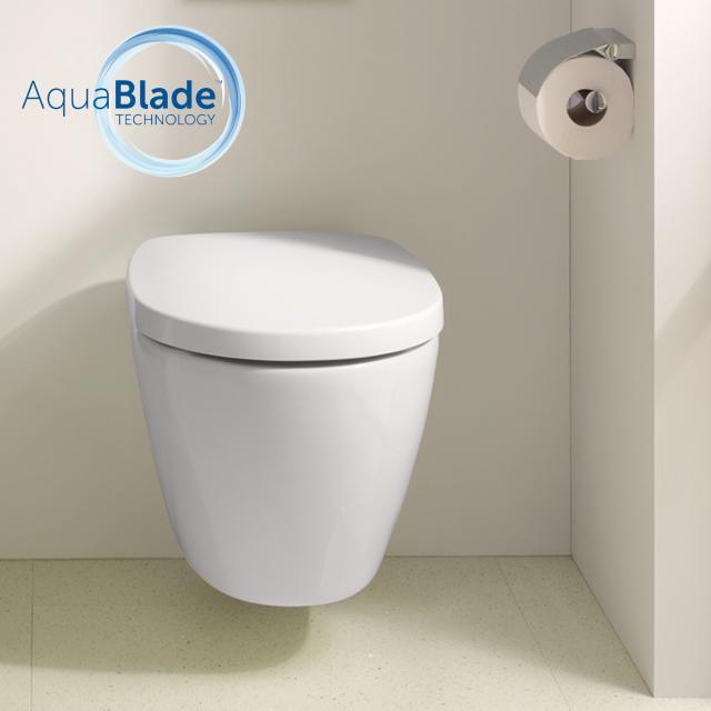 Ideal Standard Connect Wand-Tiefspül-WC AquaBlade weiß, mit Ideal Plus