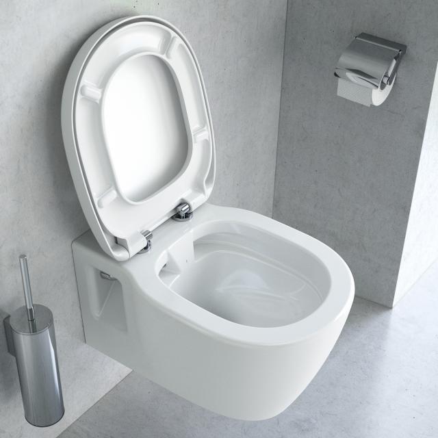 Ideal Standard Connect Wand-Tiefspül-WC spülrandlos weiß, mit Ideal Plus