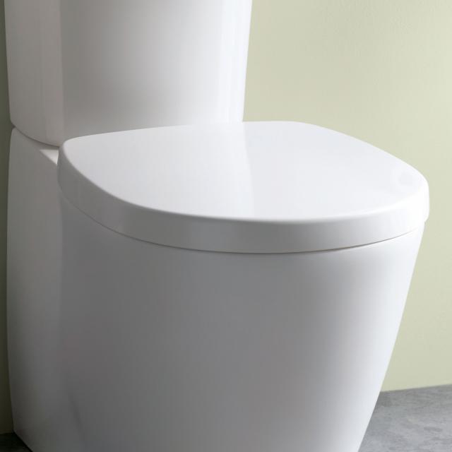 Ideal Standard Connect WC-Sitz weiß ohne Absenkautomatik soft-close
