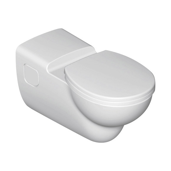 Ideal Standard Contour 21 Wand-Tiefspül-WC barrierefrei ohne Spülrand weiß