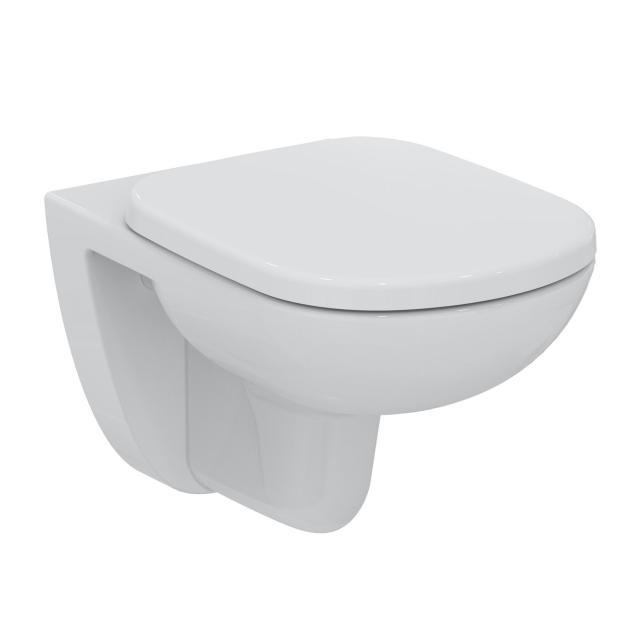 Ideal Standard Eurovit Plus Wand-Tiefspül-WC mit Spülrand, weiß