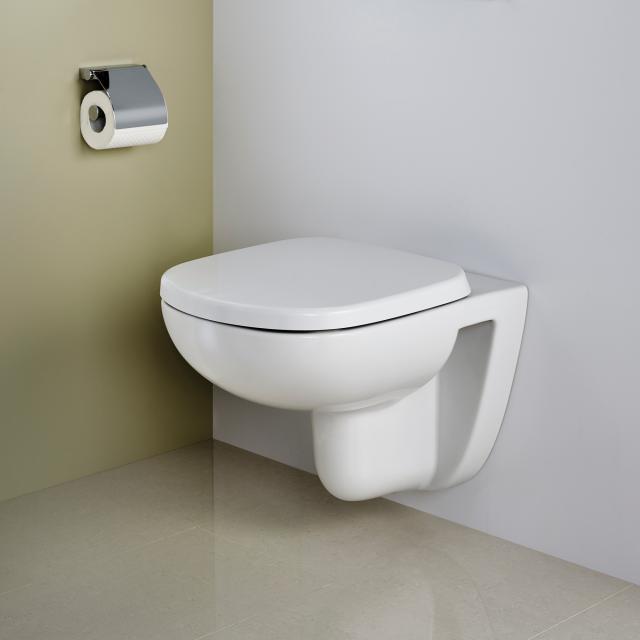 Ideal Standard Eurovit Plus Wand-Tiefspül-WC mit WC-Sitz