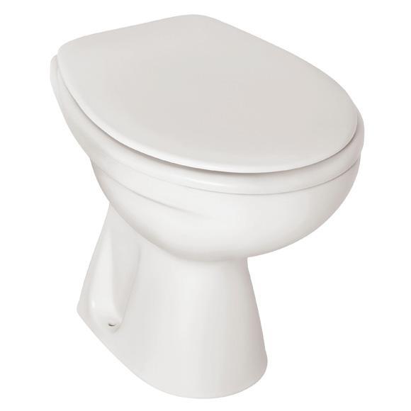 Ideal Standard Eurovit Stand-Tiefspül-WC Abgang innen senkrecht