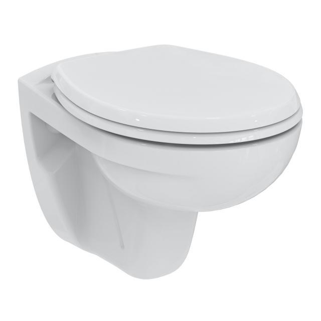 Ideal Standard Eurovit Wand-Tiefspül-WC Set, spülrandlos, mit WC-Sitz