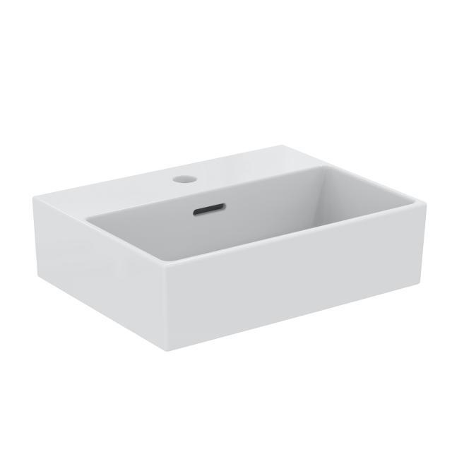 Ideal Standard Extra Handwaschbecken weiß, mit 1 Hahnloch, ungeschliffen