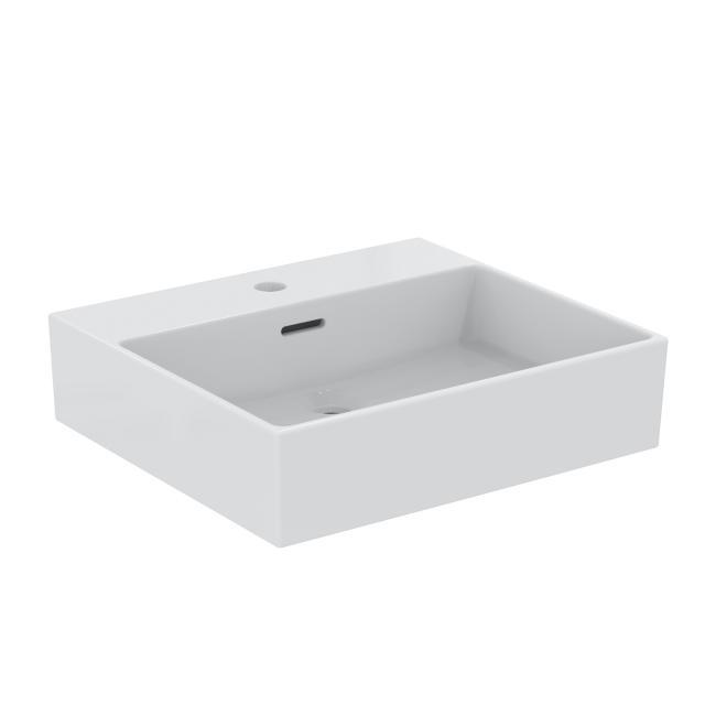 Ideal Standard Extra Handwaschtisch weiß, mit 1 Hahnloch, ungeschliffen