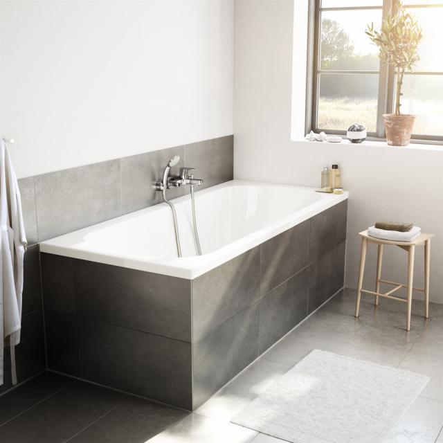 Ideal Standard Hotline Neu Duo Rechteck-Badewanne, Einbau