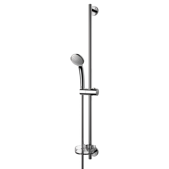 Ideal Standard Idealrain S1 Brausekombination mit 1-Funktionshandbrause, Ø 80 mm Höhe: 900 mm