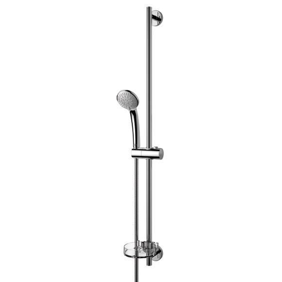 Ideal Standard Idealrain S3 Brausekombination mit 3-Funktionshandbrause, Ø 80 mm Höhe: 900 mm