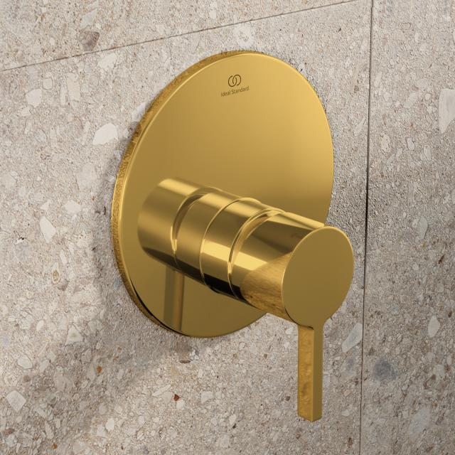 Ideal Standard Joy Brausearmatur Unterputz Bausatz 2 brushed gold