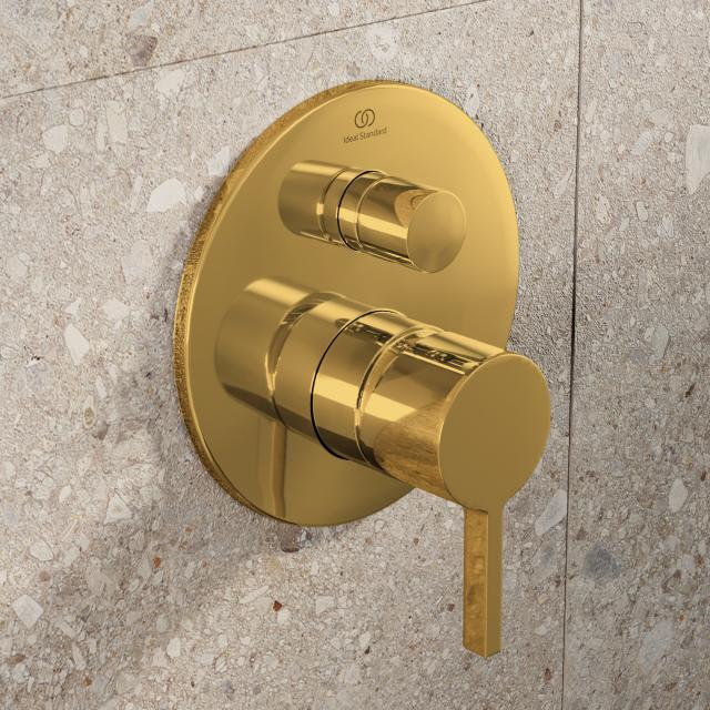 Ideal Standard Joy Wannenarmatur Bausatz 2 brushed gold