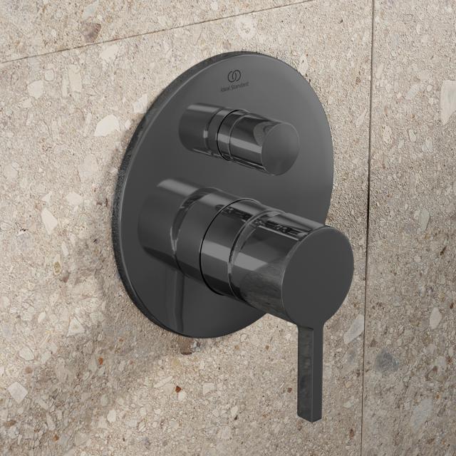 Ideal Standard Joy Wannenarmatur Bausatz 2 magnetic grey