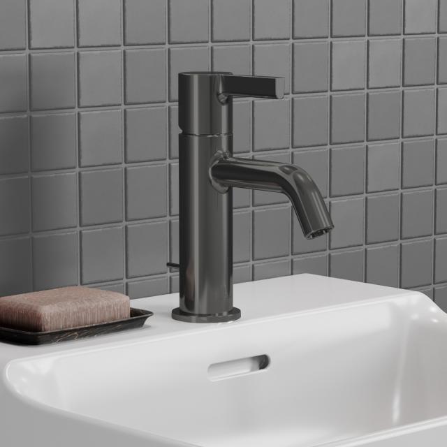 Ideal Standard Joy Waschtischarmatur magnetic grey, mit Ablaufgarnitur