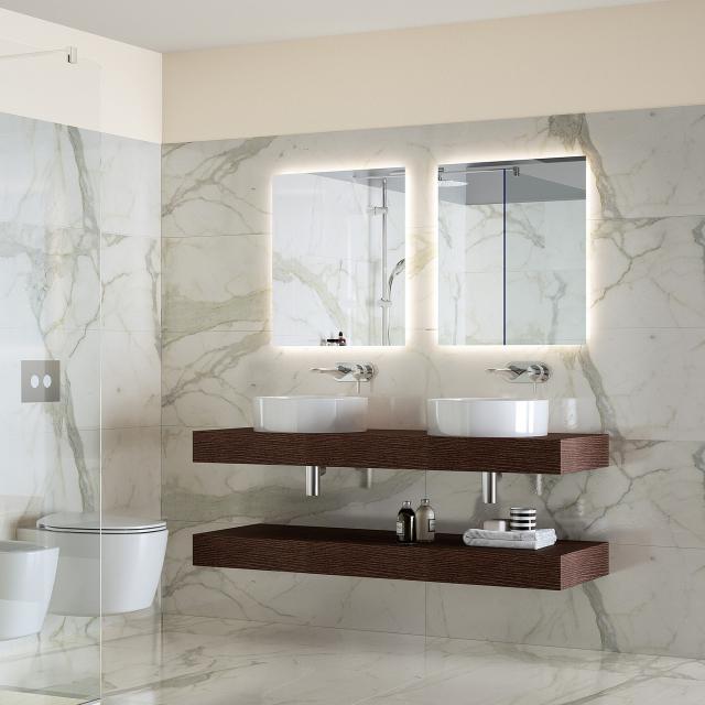 Ideal Standard Mirror & Light Spiegel mit LED-Beleuchtung, drehbar