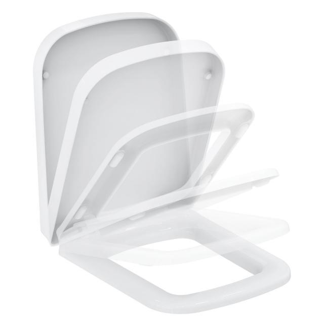 Ideal Standard SimplyU/Strada WC-Sitz weiß mit Absenkautomatik soft-close