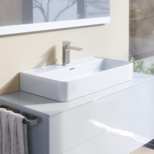 Ideal Standard Strada II Waschtisch weiß, mit 1 Hahnloch, geschliffen