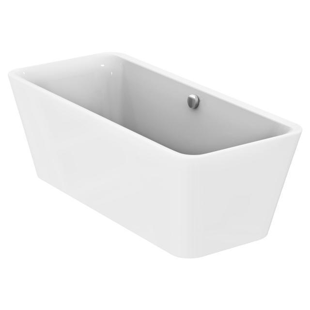 Ideal Standard Tonic II Freistehende Rechteck-Badewanne weiß, mit Füllfunktion über Überlauf
