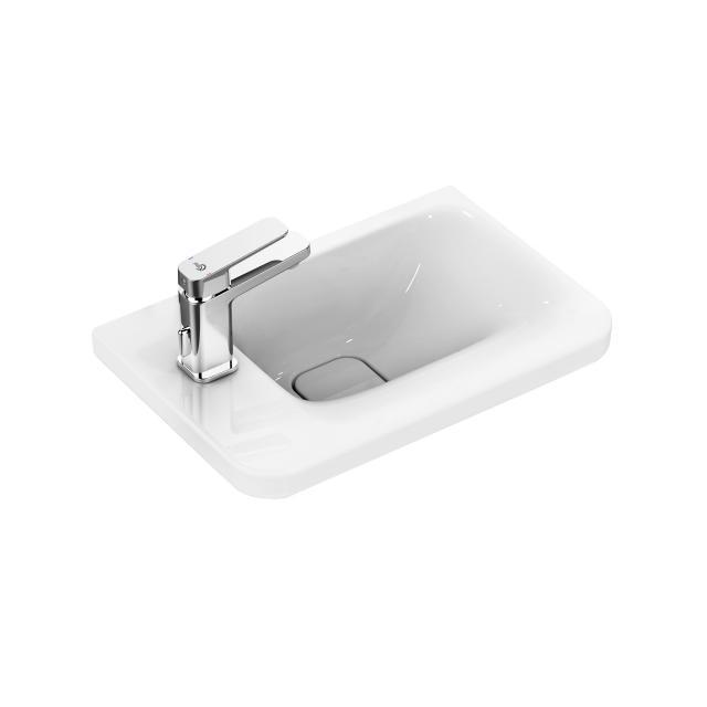 Ideal Standard Tonic II Handwaschbecken weiß, mit Ideal Plus, mit verdecktem Überlauf