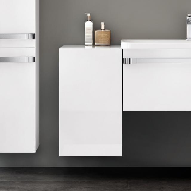 Ideal Standard Tonic II Seitenschrank Front weiß hochglanz/ Korpus weiß hochglanz