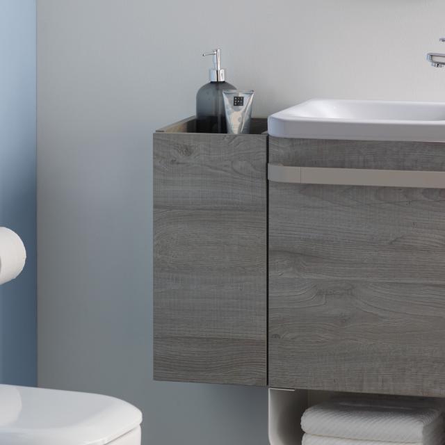 Ideal Standard Tonic II Seitenschrank für Handwaschbecken Front eiche grau dekor/ Korpus eiche grau dekor