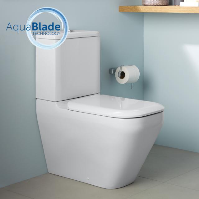 Ideal Standard Tonic II Stand-Tiefspül-WC für Kombination, AquaBlade weiß