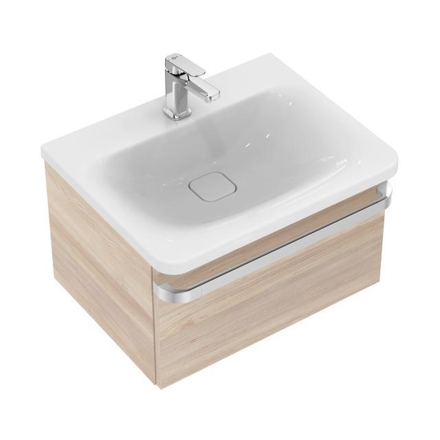 Ideal Standard Tonic II Waschtischunterschrank mit 1 Auszug Front pinie hell dekor/ Korpus pinie hell dekor