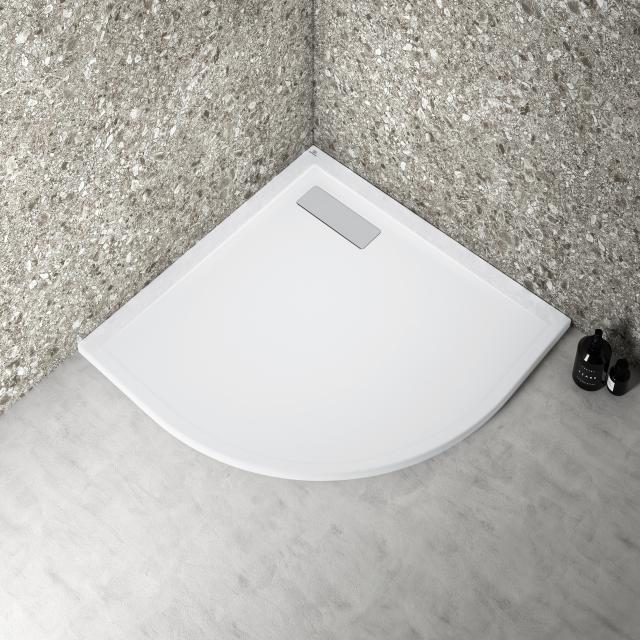 Ideal Standard Ultra Flat New Viertelkreis-Duschwanne weiß