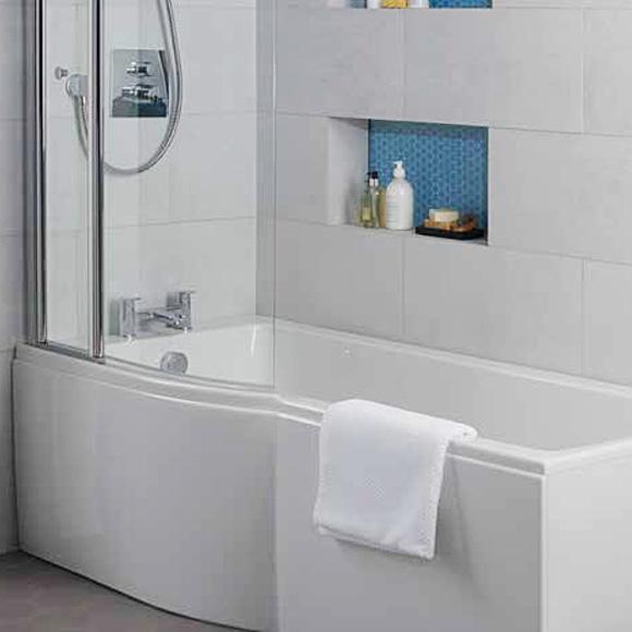 ideal standard connect air dusch badewanne version links e113401 reuter. Black Bedroom Furniture Sets. Home Design Ideas