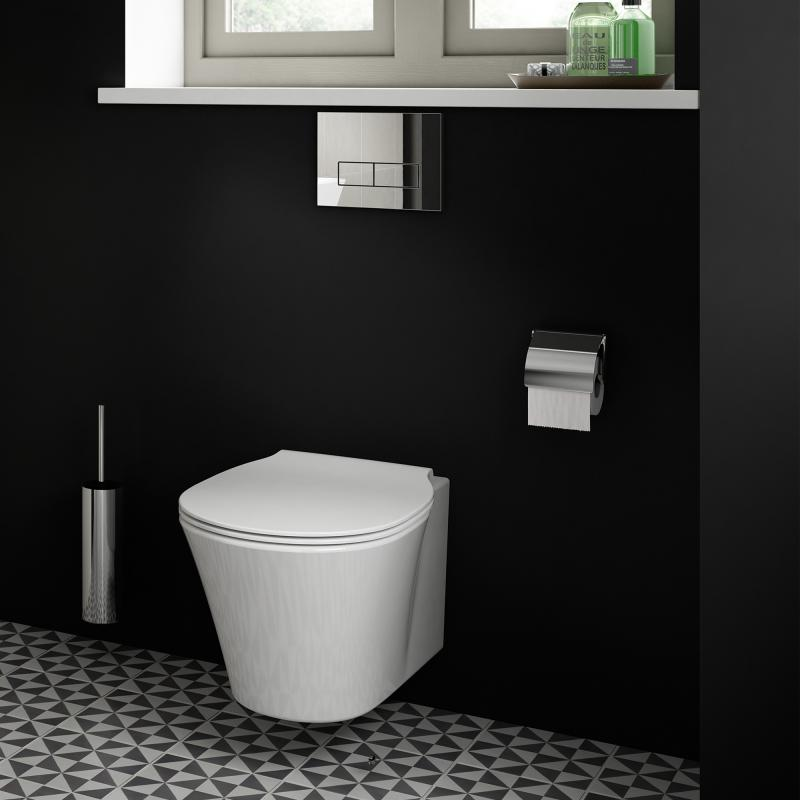 ideal standard connect air wand tiefsp l wc ohne sp lrand wei ohne beschichtung e015501 reuter. Black Bedroom Furniture Sets. Home Design Ideas