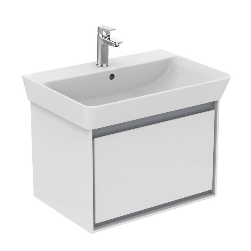 Ideal Standard Connect Air Waschtisch weiß mit Ideal Plus ... | {Waschtisch weiß 99}