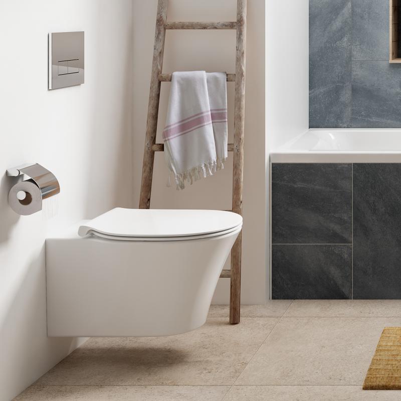 ideal standard connect air wc sitz sandwich wei mit absenkautomatik soft close e036601 reuter. Black Bedroom Furniture Sets. Home Design Ideas