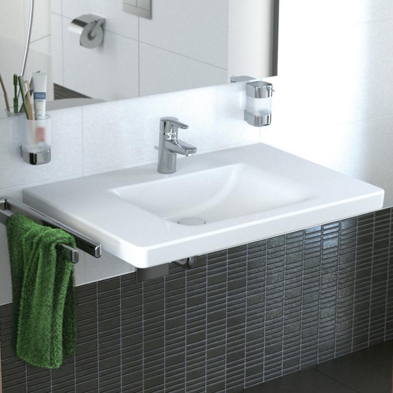ideal standard connect freedom waschtisch unterfahrbar wei mit berlauf e548401 reuter. Black Bedroom Furniture Sets. Home Design Ideas