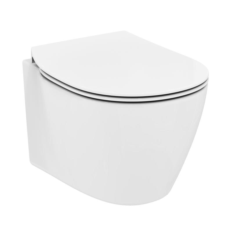 Ideal Standard Connect Space Wand-wc Kompakt, Unsichtbare ... Kompakte Designer Toiletten