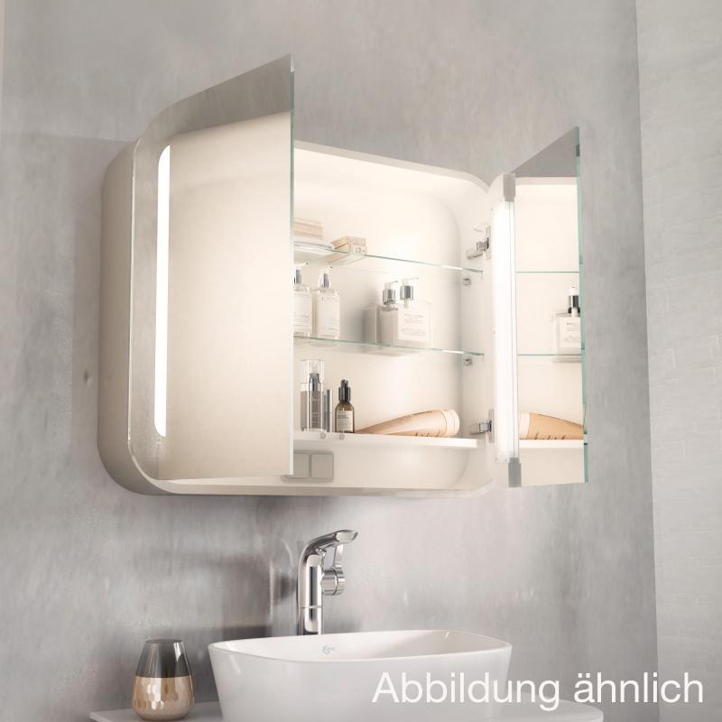 Innovativ Ideal Standard Dea Spiegelschrank weiß hochglanz - T7856WG | REUTER UN16