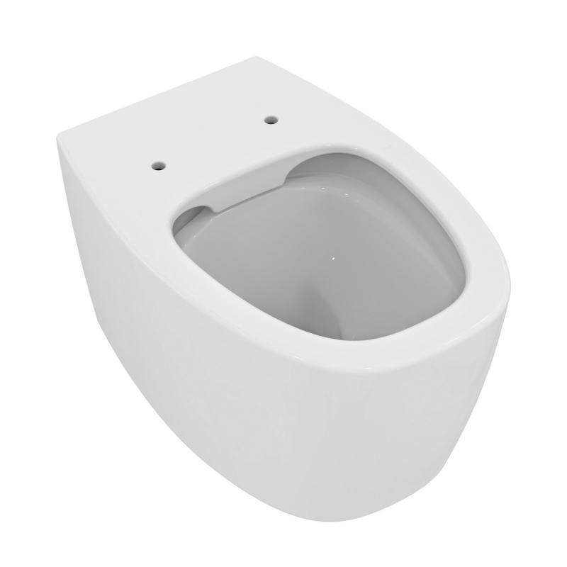 Ideal Standard Dea Wandtiefspülklosett ohne Spülrand weiß ...