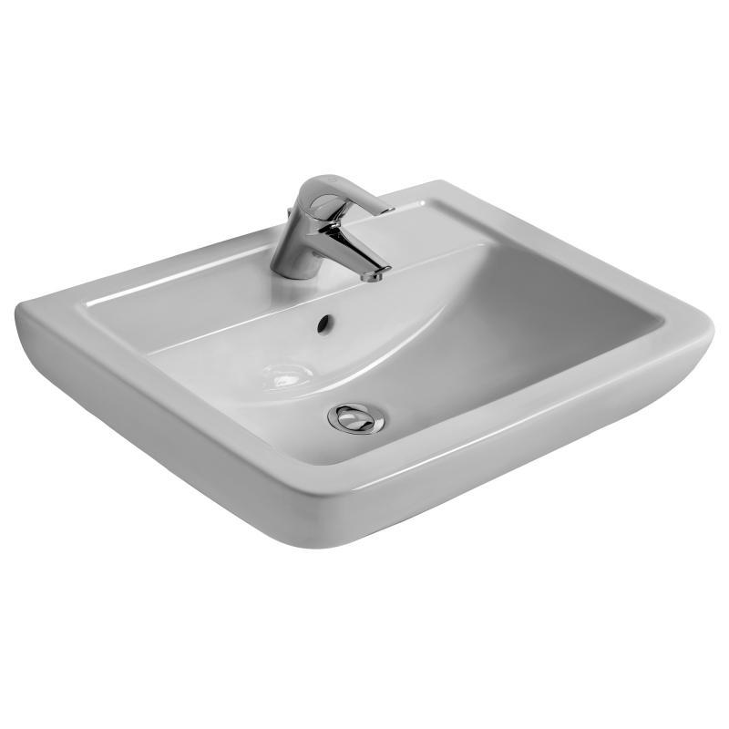 Ideal standard eurovit plus waschtisch wei v302701 for Ideal standard waschtisch