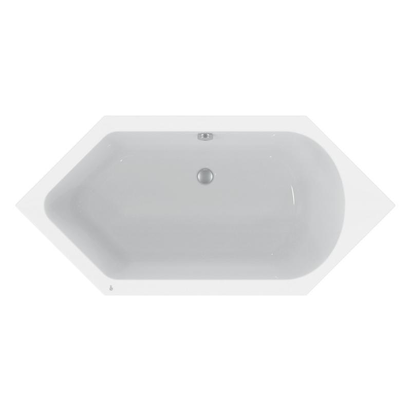 ideal standard hotline neu sechseck badewanne k275501 reuter. Black Bedroom Furniture Sets. Home Design Ideas