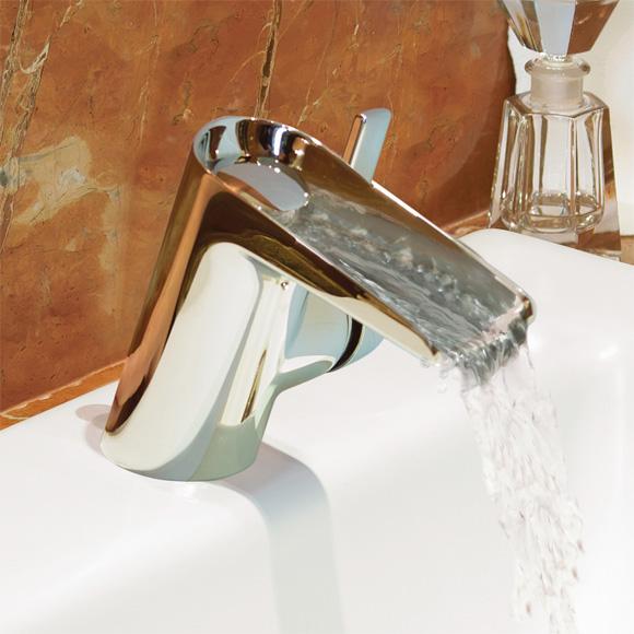 Badarmaturen wasserfall  Ideal Standard Melange Einhebel-Waschtischarmatur WASSERFALL mit ...